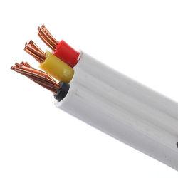 Leiter Belüftung-Isolierungs-flaches Arbeitsweg-Höhenruder-Kabel 300/500V des Vde-Cer-StandardH05vvh6-F H07vvh6-F Tvvb kupferne