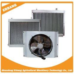 Radiador de Aire Caliente Ventilador para la acuicultura de agua con caldera
