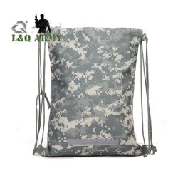 Mochila táctica del ejército de cordón de Servicio Pesado Bolso saco