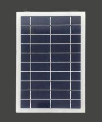 6W 5V Frameless 작은 다결정 태양 전지판