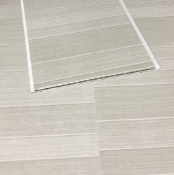 5mm azulejos de tijolos de revestimento de plástico de PVC de efeito de banho painéis de parede