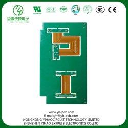 Гибкая печатная плата с жесткой рамой проектирования печатных плат зеленый черный масло для автомобильной промышленности Flex-Rigid PCB Совета медицинских FPC телекоммуникационных устройств ЖК-SMT