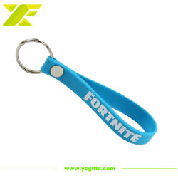 Commerce de gros bracelet en silicone multifonctionnelle personnalisé Keyholder /trousseau de clés en PVC pour les dons (SK06-C)