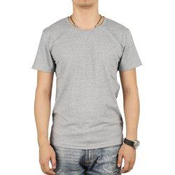 Zachte Vlotte Katoenen van Handfeeling Lycra T-shirt voor de Slijtage van de Manier