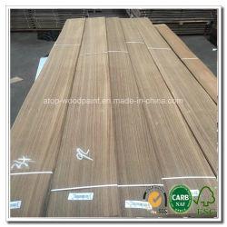 ABC del grado de 0,45 mm de chapa de madera de teca de Birmania muebles cuarto de corte para la puerta de madera contrachapada