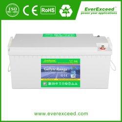 Gama Gellyte Everexceed/ Vento Solar/ iluminação de emergência/ 12V100ah bateria VRLA
