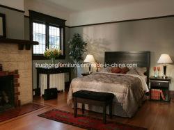 Compensato moderno specializzato della mobilia dell'hotel dell'insieme di camera da letto dell'hotel della mobilia dell'hotel/mobilia solida dell'hotel dell'impiallacciatura del legname