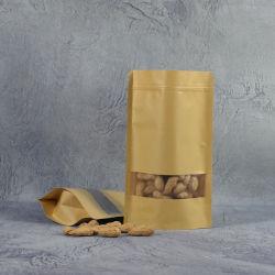 Aluminium folie Goedkope 5L opvouwbare voeding/Vape pen/Sieraden/Tote verpakking biologisch afbreekbaar kunststof Transparante strandtas PE/OPP-vuilniszakken
