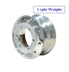 DOT /ISO/Marcação Leveza Aro das Rodas Forjadas de Alumínio /Jantes de liga /Polidos rodas para caminhões pesados 22,5X8.25 22,5X 7,5 22,5X9.00 22,5X11.75 22,5X13.00 22,5X14