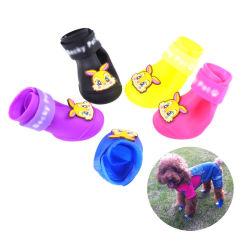 Teddy Bichon Frise VIP/Perro Cartoon zapatos/nuevo perro Non-Slip impermeables botas de lluvia de deportes de ocio