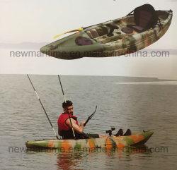 Único Banco se sentar em cima caiaque, pesca barco inflável Rígida