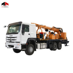 Sellingのための300m Depthのための熱いSale Hydraulic Rotary Borehole DTH Water Well Drilling Rig