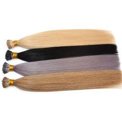 Produtos quentes no emaranhado sem halo de corte de extensões de cabelo 100% Remy dos direitos do