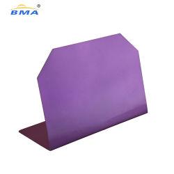 De aço inoxidável com suporte para placa de boletim magnético tampo