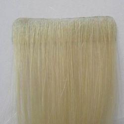 100% هندي ريمي مسجل مسبقاً على البشرة PU تمديد الشعر البشري