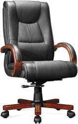 Klassisches modernes hölzernes PU/Leather Metallexecutivcomputer-Manager-Schwenker-Sitzungs-Büro-Besucher-Stuhl (8015)