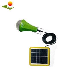 Использования солнечной энергии 3 Вт Светодиодные фонари солнечных домашних комплект зарядное устройство для мобильных телефонов