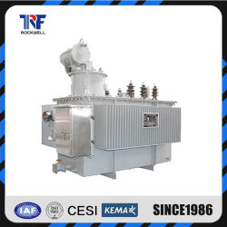 IEC 표준 15/0.4kv 800kVA 전원 공급 장치 변압기오일 유입량 분배 인증서가 있는 세 개의 Pase Transformer