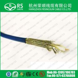 高品質 3GHz 低損失同軸ケーブル、 HDTV Rg59tc デジタル用