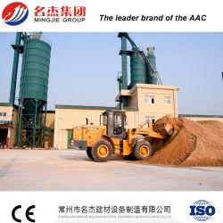 AAC Bloquear la línea de producción completamente automática de las cenizas volantes máquina de fabricación de ladrillos