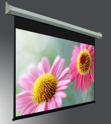 Wand-Montierungs-großer motorisierter Projektor-Bildschirm/elektrischer Bildschirm