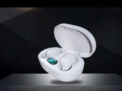 A6l Bluetooth-oordopjes met digitaal display en waterbestendige TWS-oortelefoon met LED Bluetooth-oortelefoon voor sport weergeven