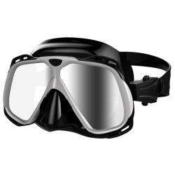 Estrutura de grande ângulo de ampla faixa de silicone confortável máscaras de mergulho