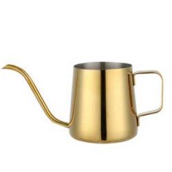 Gold Color roestvrij staal 304 koffiepot voedselkwaliteit FDA LFGB