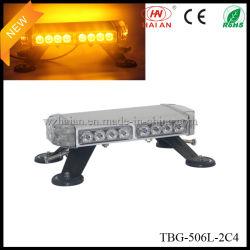 Aluminium behuizing LED Mini Lightbar Amber (TBG-506L-2C4)