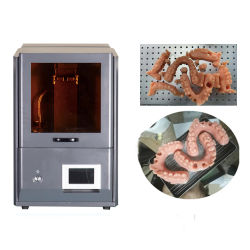 stampante dentale di velocità veloce 3D di alta precisione di tecnologia dell'affissione a cristalli liquidi di ripristini 3DTALK per la soluzione dentale di Digitahi