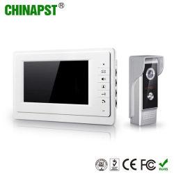 アクセス制御7インチTFTの別荘のビデオ通話装置のドアの電話(PST-VD07L)