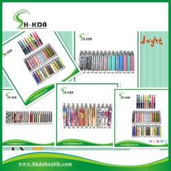 2013 Fancy coloré, la cigarette électronique e Batterie de cigares, EGO UN