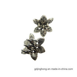 Hair Bows Ornamentのための真鍮のPlated Zinc Alloy Hair Clip