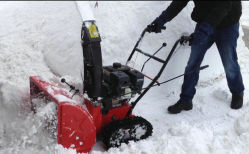 7HP souffleuse à neige avec la voie (VST-212T)