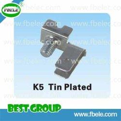 As peças de metal com revestimento de estanho K5/Bloco de Terminal através do Terminal de Alimentação/Bloquear
