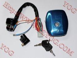قطع الدراجة البخارية مفتاح تبديل ضبط/مفتاح رئيسي لـ AX100 Bajaj Cg150