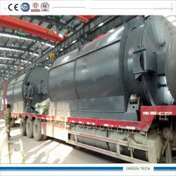 La refinación de petróleo crudo de purificación de la máquina