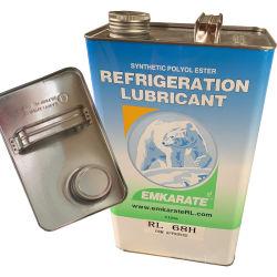 O lubrificante de refrigeração Emkarate Rl 68h 1L 5L de óleo para compressor de condicionador de ar automático Equipamento