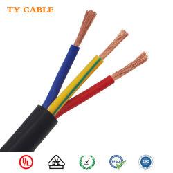 Fabricant jauge personnalisé isolés en PVC pour l'électroaimant de câble en cuivre