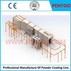 A linha de produção de revestimento de PTFE para recipiente de alumínio com marcação CE