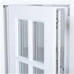 Cierra bien Ventanas de aluminio Cristal aluminio Swing estándar
