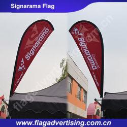 Водоустойчивый флаг Signarama, знамя ткани, знамя Teardrop полиэфира