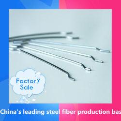 Горячая продажа конец стальные волокна для конкретных