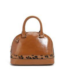 Senhoras Casual Shopper Tote Bag PU de bolsas de couro para Mulheres