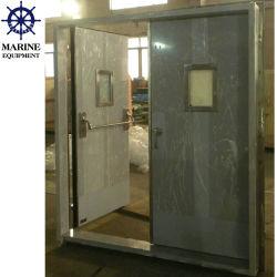 Doppio portello a tenuta d'acqua impermeabile al gas marino dell'acciaio inossidabile del foglio A60