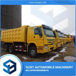 Sinotruk utilizan 25 toneladas de camión volquete HOWO camiones volquetes de 6X4