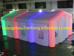 8X5m の結婚式テント膨張式結婚式のパーティーテント、 LED ライト
