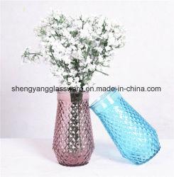 Botella de cristal decorativa hecha a mano de /Glassware/Glass del florero para Derocation casero