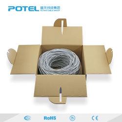 Los datos de Custom-Made UTP CAT6 CAT5/CAT/6una red exterior del cable Ethernet de cable 24AWG