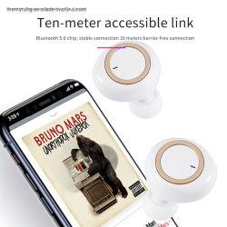 Tws écouteurs écouteurs sans fil Bluetooth V5.0 Dual-Microphone stéréo 3D pour mobile antibruit